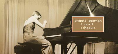 Click here to view a list of performances by Brenna Berman